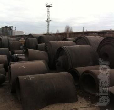 Conveyor belt rubber used