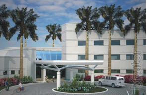 Construction health and fitness complex, USA, Florida.