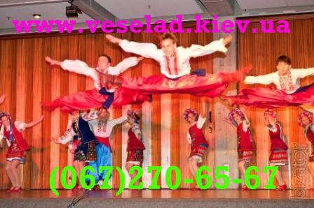 Танці для дітей від 4 років у Києві! Зразковий ансамбль Веселад, лауреат міжнародних конкурсів!