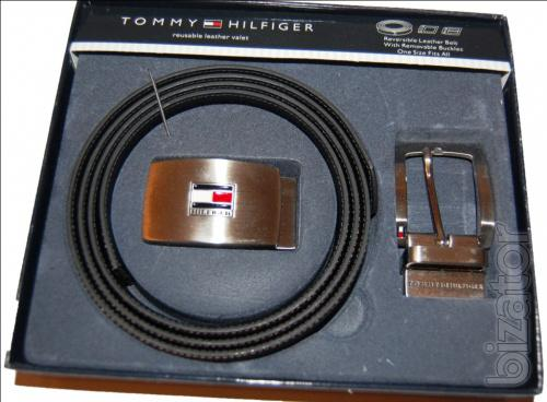 Set belt+2 buckle Tommy Hilfiger