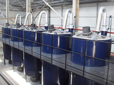 Installation for processing waste Fortan