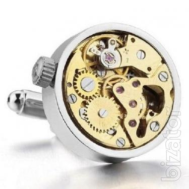 Sell cufflinks in the form of clockwork