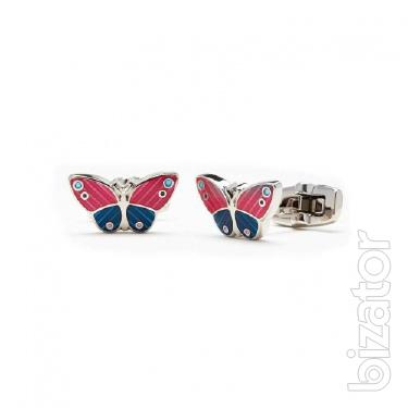 I will sell urgently! DUCHAMP cufflinks in the form of butterflies for stylish girls
