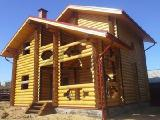 "Log cabins homes, baths of IC ""Jewdom"" (Tver)"