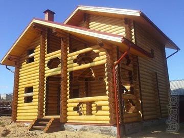 "Log cabins homes, baths of IC ""Jewdom"" (Tver)"