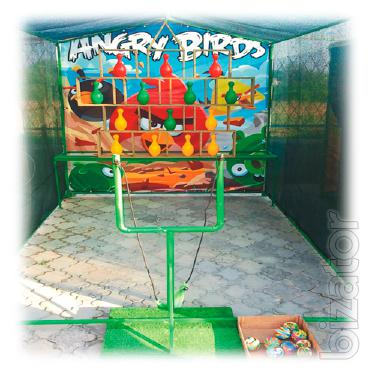 the attraction of angry birds