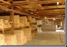 Produced edged and unedged lumber