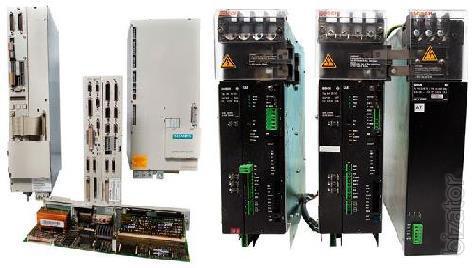 Industrial electronics firm Siemens, Bosch, Indramat CNC