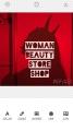 Woman beauty store shop