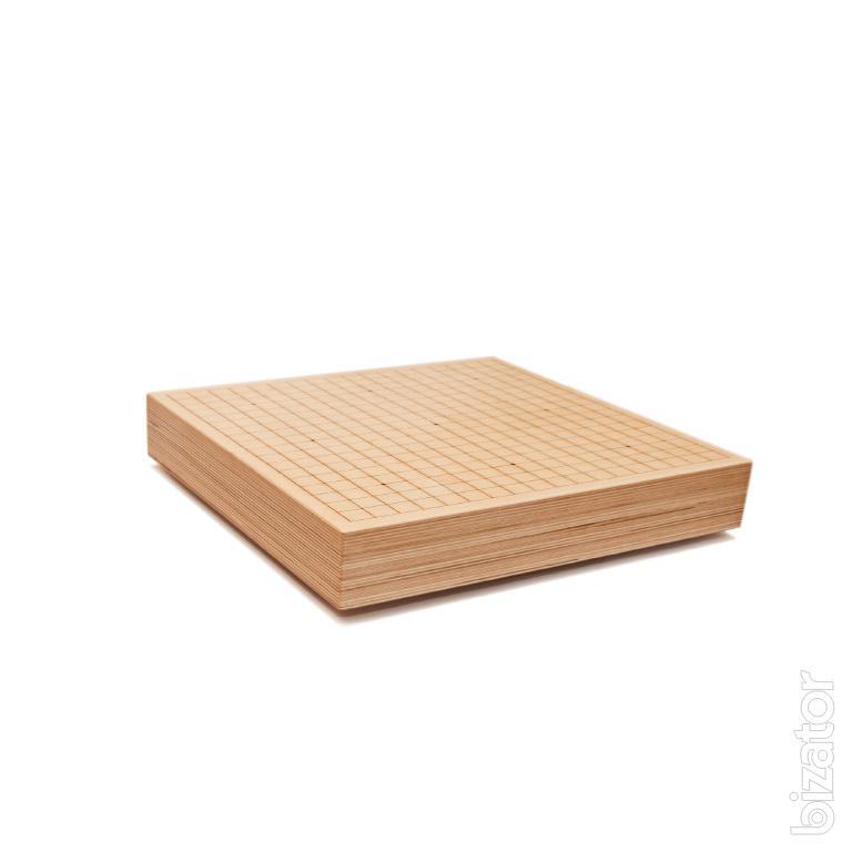 Гобан - столик для игры в Го из из дерева (массив, ясень)