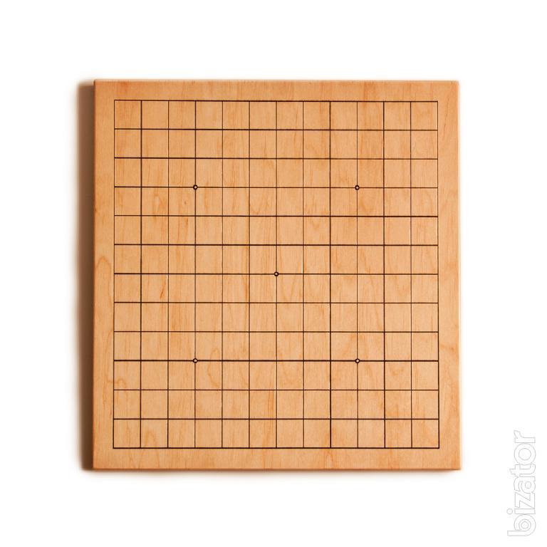 Доски для игры в Го с различной разметкой полей