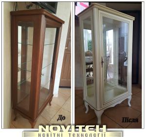 Ремонт і реставрація меблів, дверей, сходи, кухоннх фасадів і інших виробів.