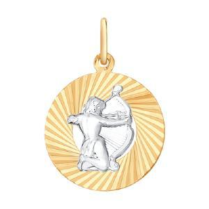 Подвеска из золота от Sokolov 031373