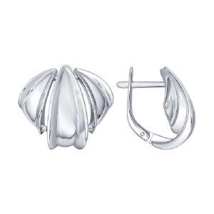 Серьги из серебра от Sokolov 94022040