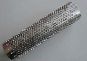Round Hole Perforated Tube