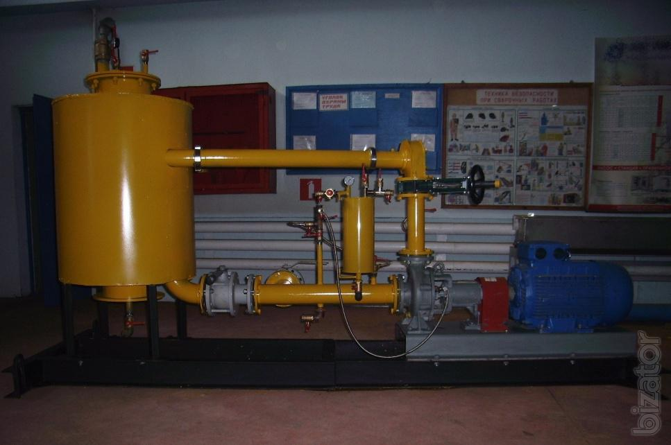 Установка УТ4.3Т для выделения гуминовых веществ