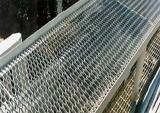 Raised Mild Steel Expanded Walkway Mesh