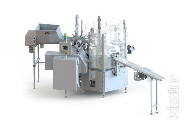 АВТОМАТ ARI-P для фасовки йогурта, творога, сметаны, спредов, маргарина и тп. в