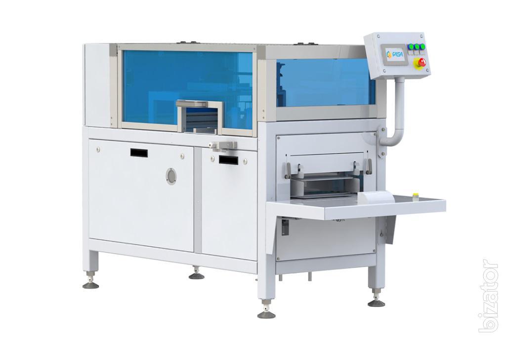 Полуавтомат DSU для групповой упаковки брикетов в короба
