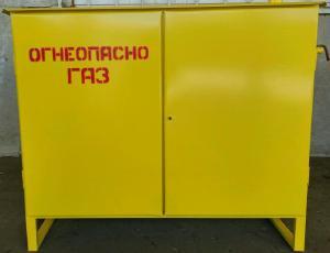 Газорегуляторный пункт шкафной ГРПШ-04-2У1