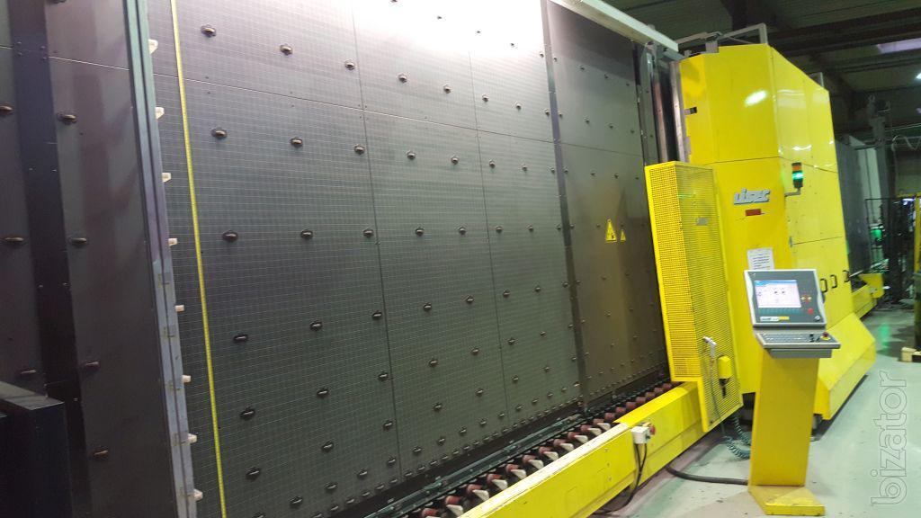 Lisec 2500 Х 3500 газ пресс робот