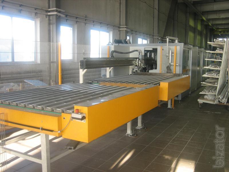 пильно обрабатывающий центр Schirmer Typ BAZ 1000-G6/VU на 240 окон