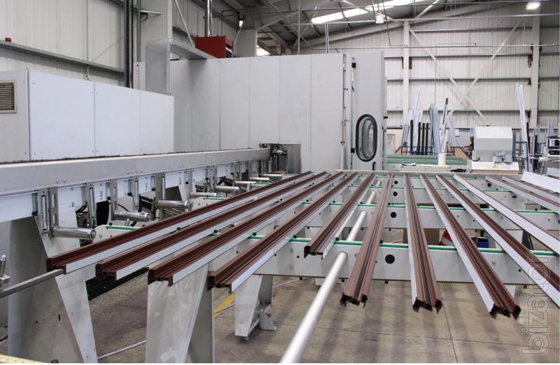 центр резки и обрабатывающий для алюминия FOM L-M.T.550 Al Time