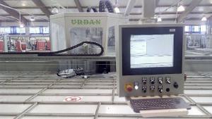 сварочно зачистная линия URBAN 2014 год