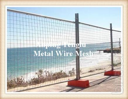 Tall Highway Fence Barrier/Highway Wire Mesh/Galvanized Highway Guardrail