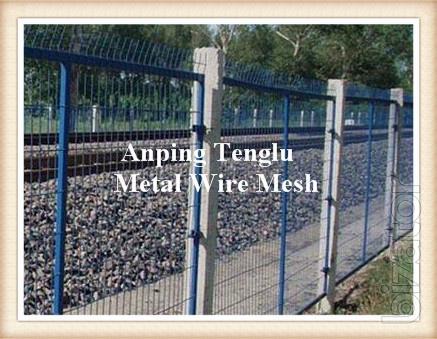 Railway Fence/Train Fencing/Pvc Coated Fencing/Metal Rail Fencing