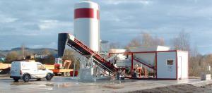 Мобильный бетонный завод, БСУ, РБУ Эконом-класса 30 м3/ч