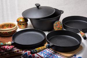Чугунная посуда в Украине