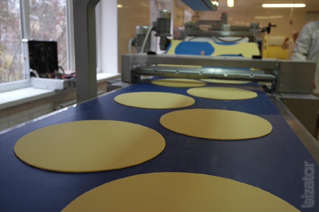 Линия для производства коржей тортов Наполеон и Медовик