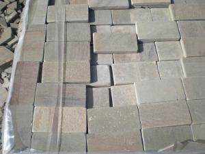 Камень пиленый + галтованный натуральный природный плитка