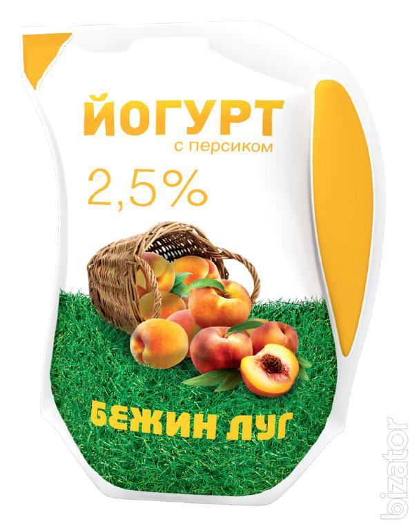 Йогурт фруктовый «Персик»