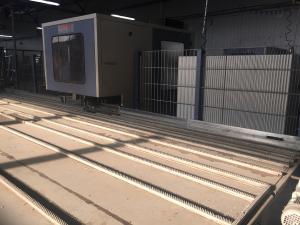 сварочно зачистная линия Holinger- Rotox с обрабатывающим центром ZOR
