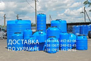 Plastic tanks for drinking water, chemicals or fuels