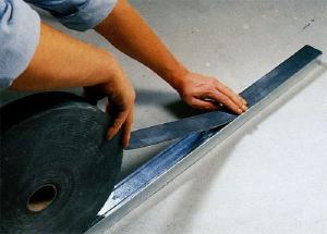 Лента ЕПДМ из вспененного каучука.