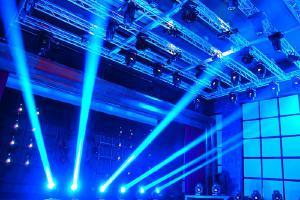 Светомузыкальное оборудование для залов и дискотек