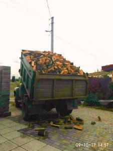 Дрова колотые-пиленные 5400 грн/Зил с доставкой Кременчуг и обл.
