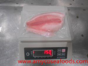 Frozen tilapia fillet CO treated