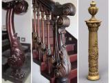 Резные балясины и начальные столбы для лестниц
