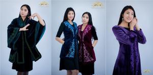 Казахская женская национальная одежда