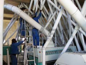 150Tons /24h maize flour milling machine