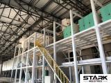 200T PLC Control low fat maize meal Milling Machine
