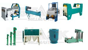 Steel structure wheat maize flour mill plant for sale