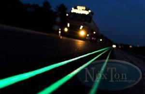 Готовая светящаяся краска Нокстон на основе люминофора ТАТ 33