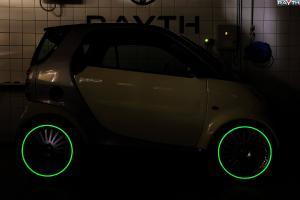 Краска Нокстон для тюнинга авто с эффектом автономного свечения в темноте