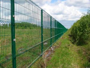 Забор 3d