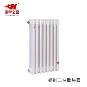 Steel tubular radiator